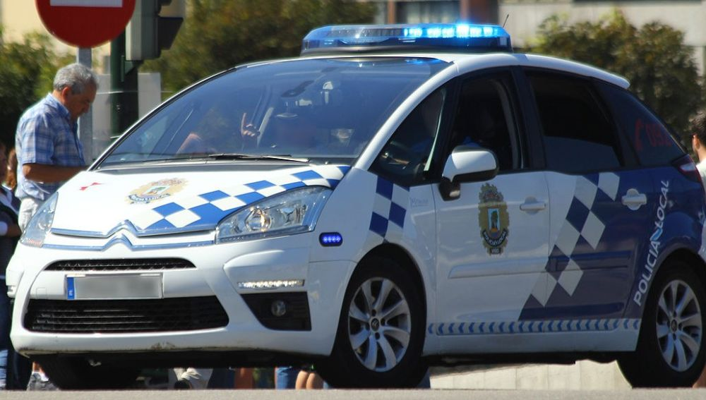Imagen de archivo de un vehículo de la Policía Local de Vigo