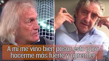 'Loco' Gatti y Josep Pedrerol