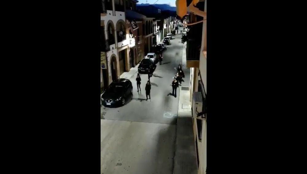 Porcuna, pueblo de Jaén donde se ha celebrado una procesión
