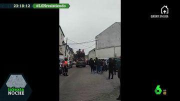 Vecinos de Beas de Segura (Jaén) se saltan el confinamiento para celebrar una fiesta en la calle