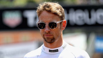 Jenson Button, con McLaren
