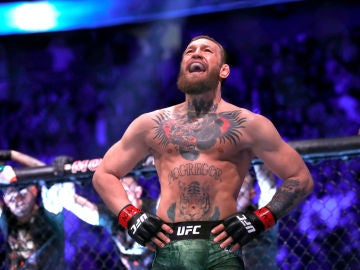 Conor McGregor se ríe