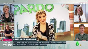 """El equipo de Liarla Pardo se une para cantar 'Resistiré', el himno de la cuarentena por el coronavirus: """"Como los cantantes de verdad, pero mal"""""""
