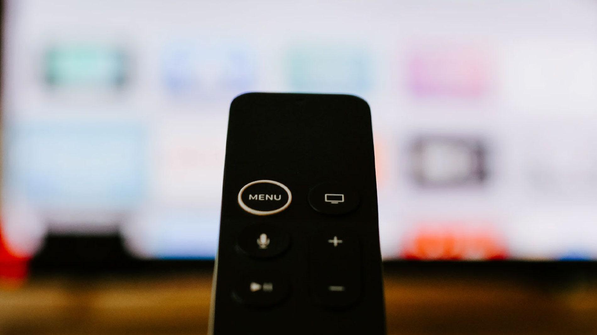 Mando de Apple TV