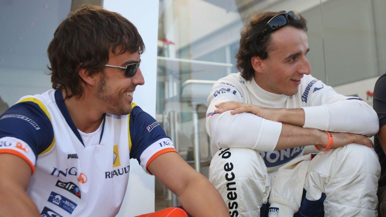 Fernando Alonso y Robert Kubica.