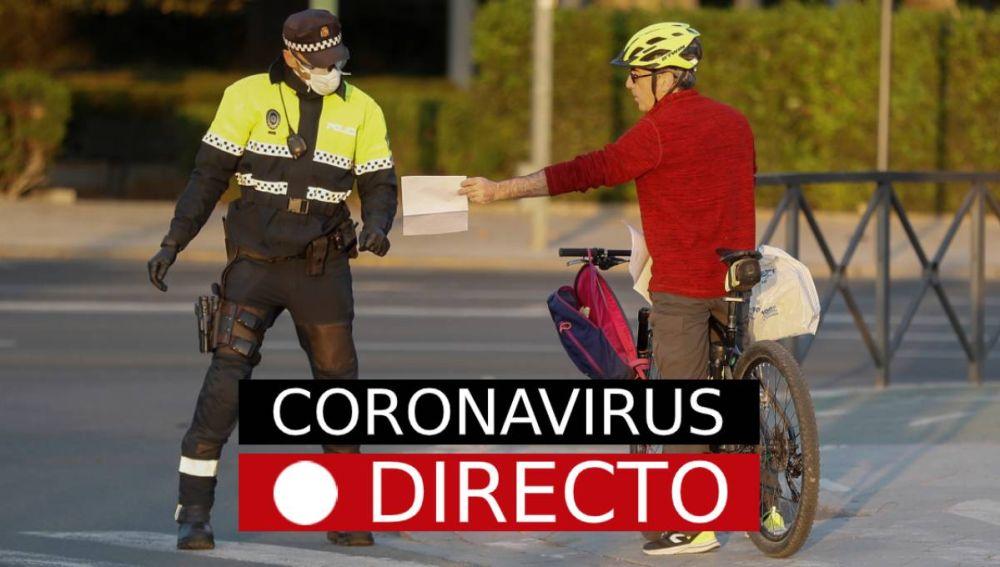 Coronavirus España | Última hora: Curva de contagios, datos y casos, noticias en directo