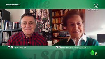 """Adela Cortina, sobre la crisis del coronavirus: """"Si no aprendemos algo es que no tenemos arreglo"""""""