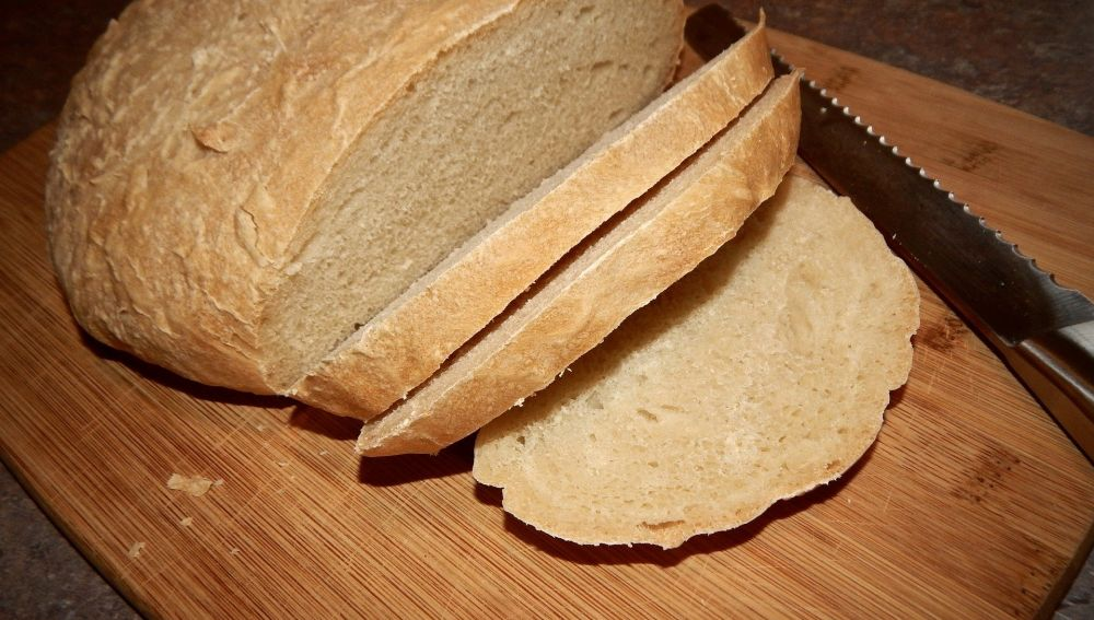 Imagen de un pan artesano