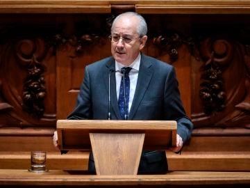 Rui Rio, durante un discurso en el Parlamento