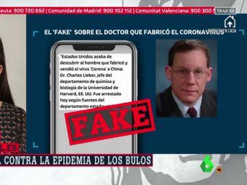 """No, Estados Unidos no ha detenido al supuesto """"creador"""" del coronavirus ni Mercadona está ofreciendo bonos en su página web"""