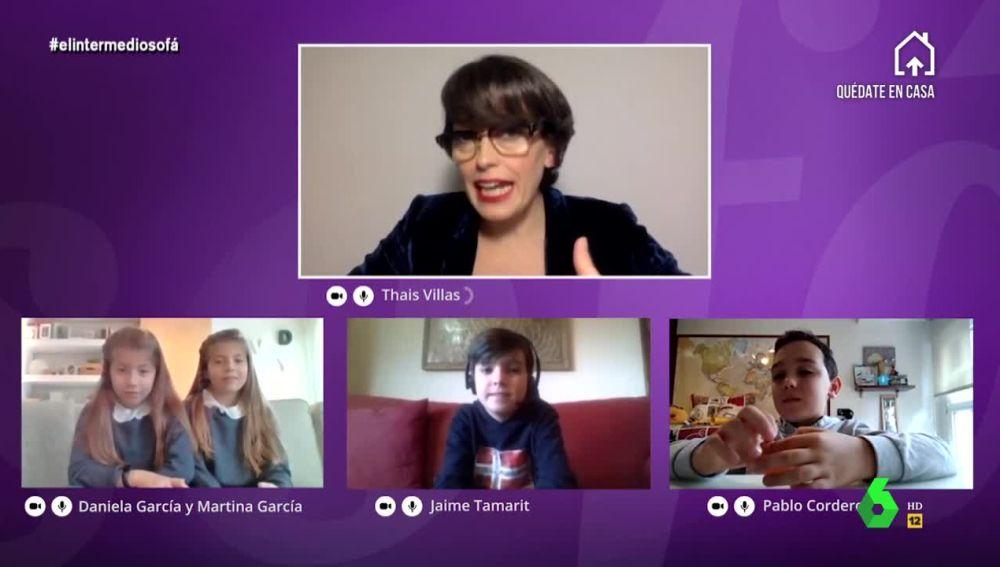 Cuatro niños explican cómo viven el confinamiento