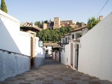 Imagen de las calles de Granada