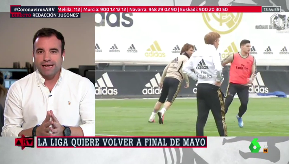 Javier Tebas pone fecha al regreso del fútbol