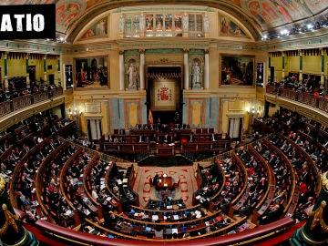 Imagen del Congreso de los Diputados en plena sesión