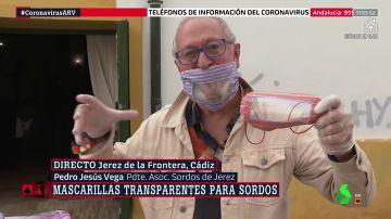 Cómo leer los labios con mascarilla: la iniciativa que permite a las personas sordas comunicarse en plena crisis del coronavirus