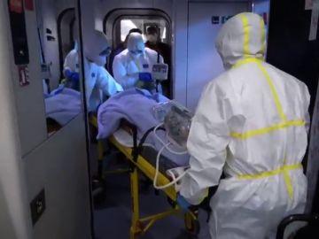 Los trenes medicalizados de Renfe para el traslado de pacientes con COVID-19
