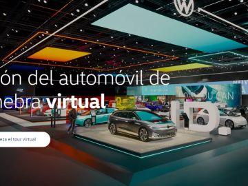 Salón del automóvil de Ginebra virtual de Volkswagen