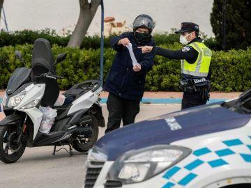 Control en Murcia para evitar desplazamientos a segundas residencias