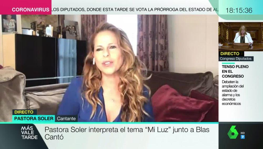 Pastora Soler, en Más Vale Tarde