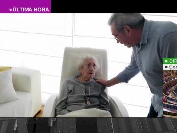 Micaela, recuperada tras sufrir coronavirus a sus 100 años