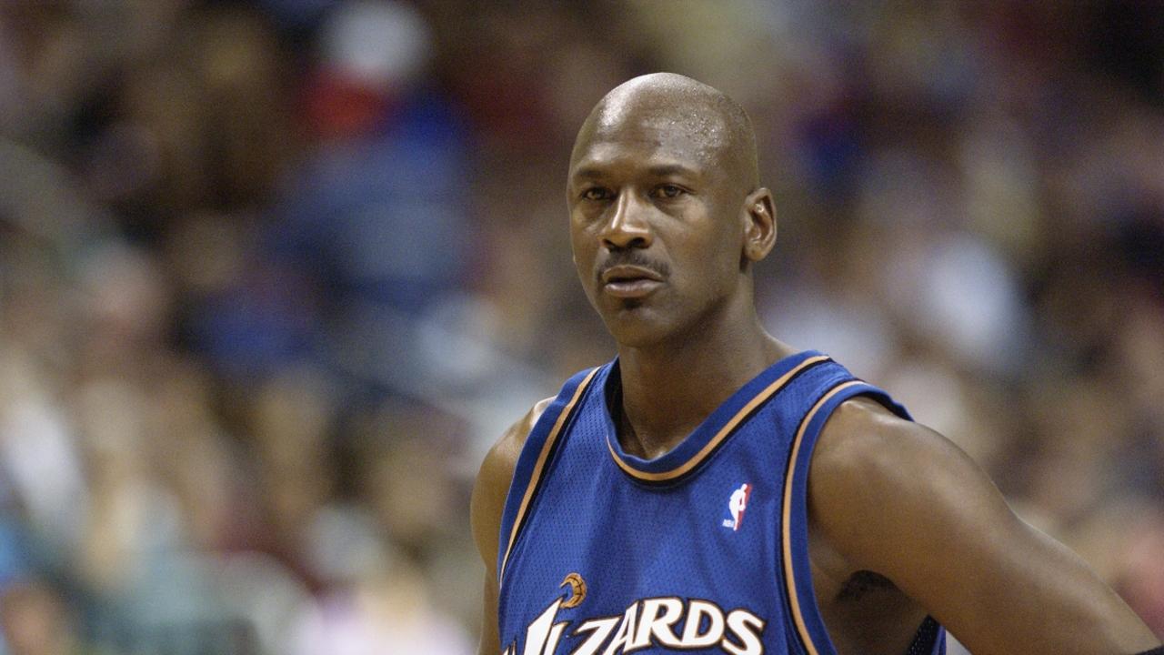 Michael Jordan, con los Wizards