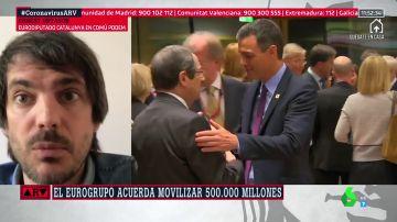 """Ernest Urtasun, eurodiputado: """"La Unión Europea se está jugando el futuro del vínculo con España con su respuesta al coronavirus"""""""