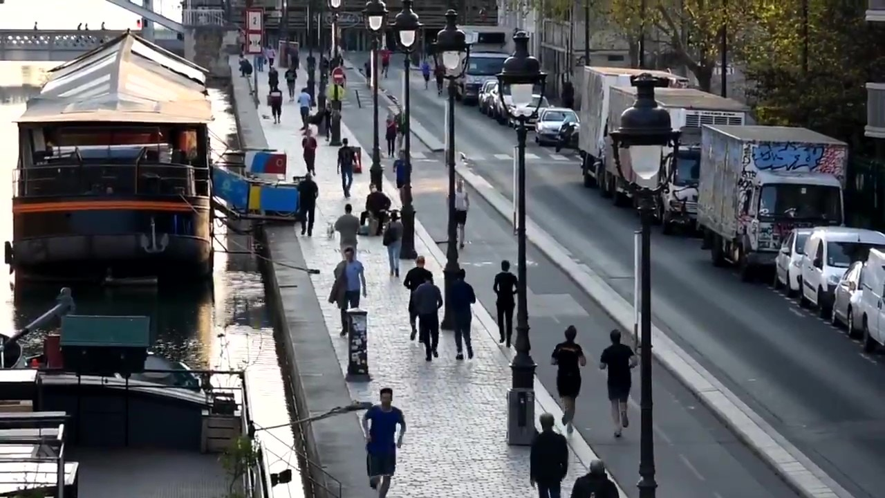 Runners en París