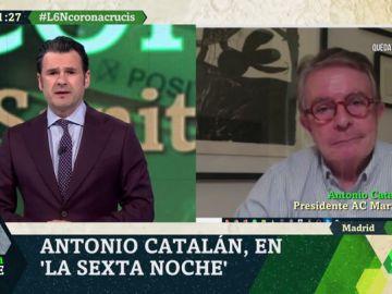 """Antonio Catalán: """"Los ERTES tendrán que durar hasta la reapertura, si no tendremos paros infinitos"""""""