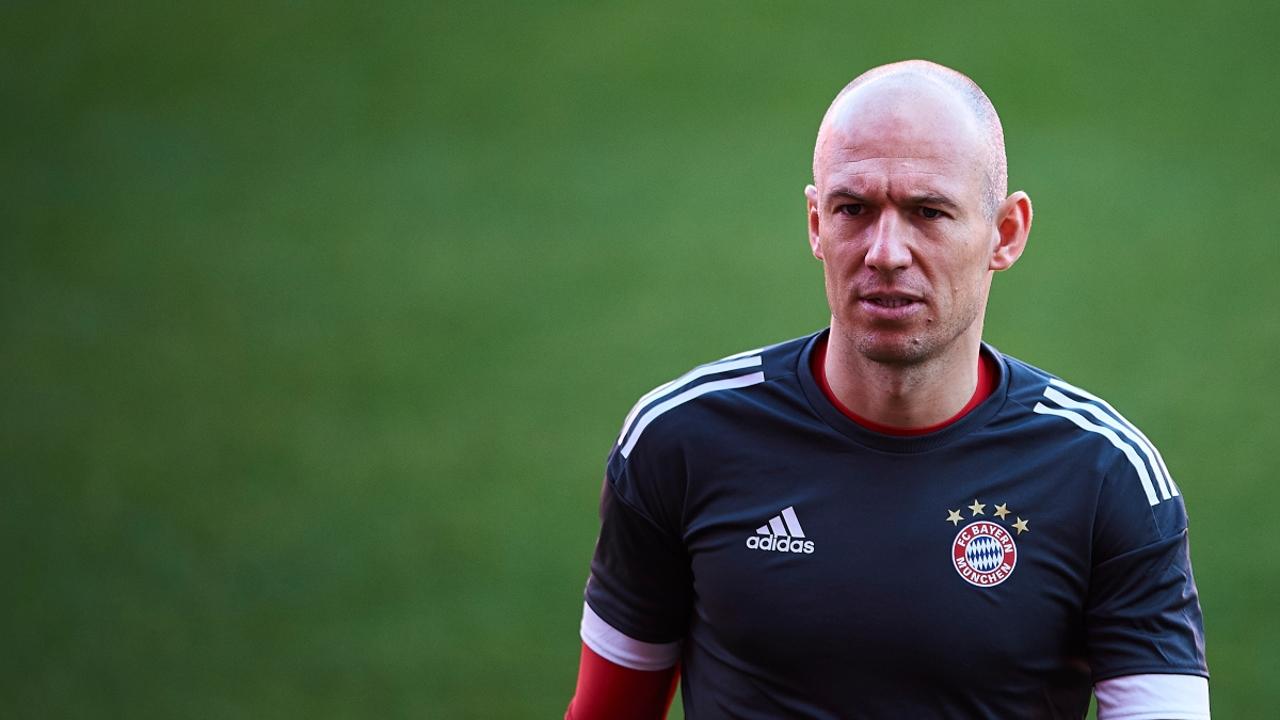 Arjen Robben, con el Bayern