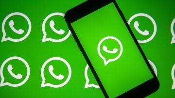 El logo de la aplicación de mensajería instantánea WhatsApp