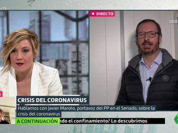 """Maroto aleja la opción de un 'Pacto de la Moncloa': """"Sánchez necesita una foto con otros partidos para repartir culpas"""""""