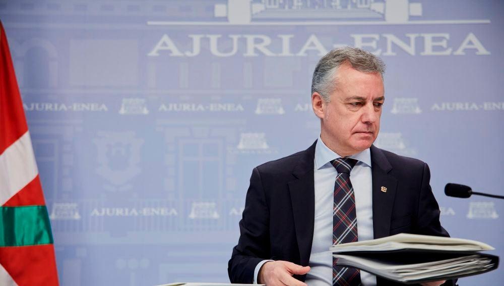 Íñigo Urkullu, lehendakari del País Vasco