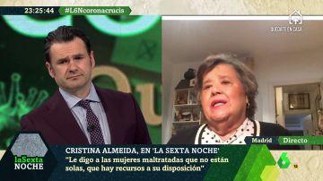 """Cristina Almeida: """"Lo que peor llevo es el número de fallecidos y que tengan que irse solos"""""""