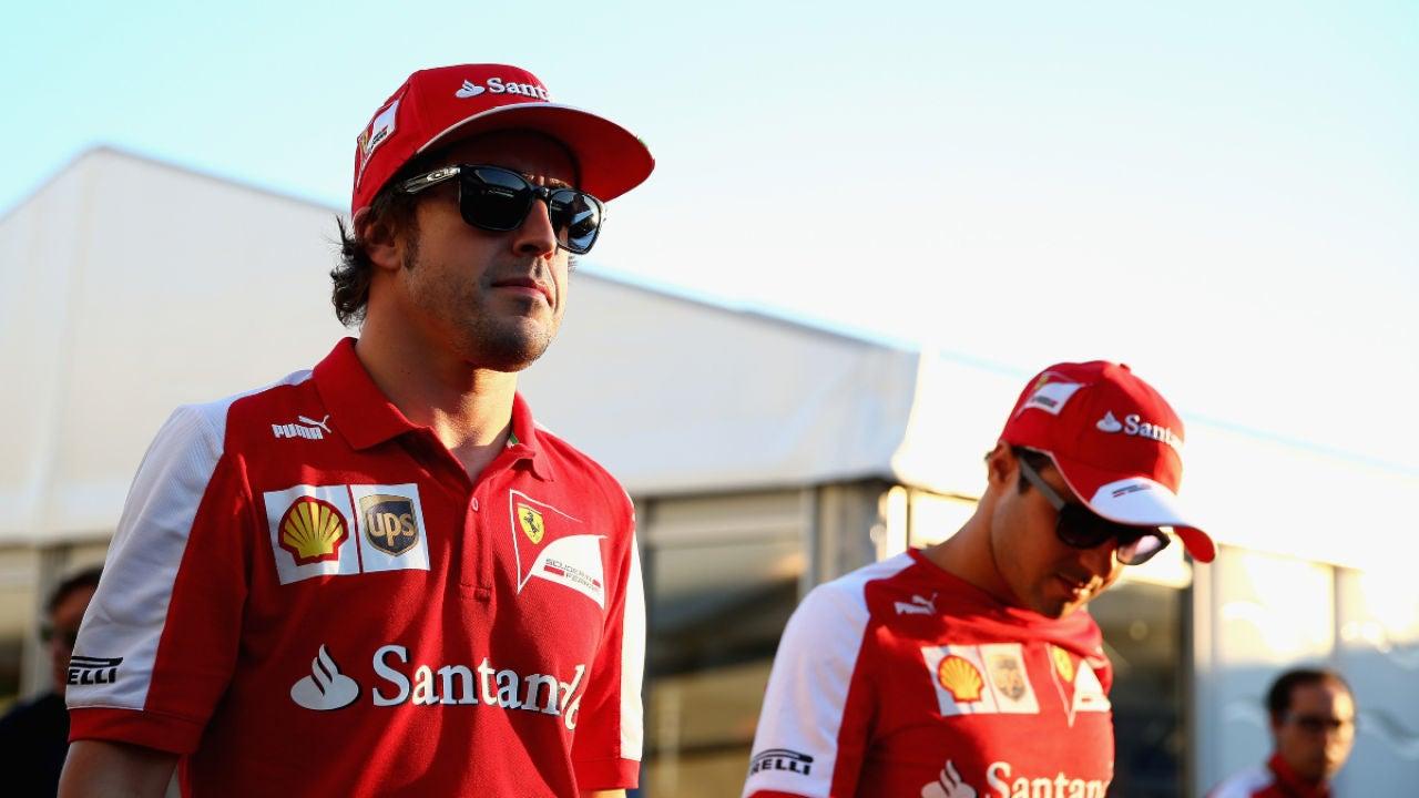 Fernando Alonso y Felipe Massa, en Ferrari