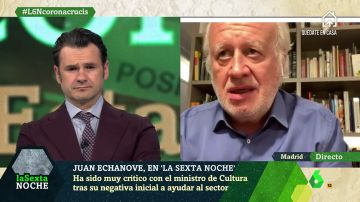 """Juan Echanove (actor): """"No podemos dejar atrás a los que fueron los primeros en cerrar y serán los últimos en volver a trabajar de manera normal"""""""