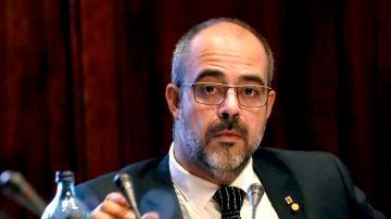El conseller de Interior de la Generalitat, Miquel Buch