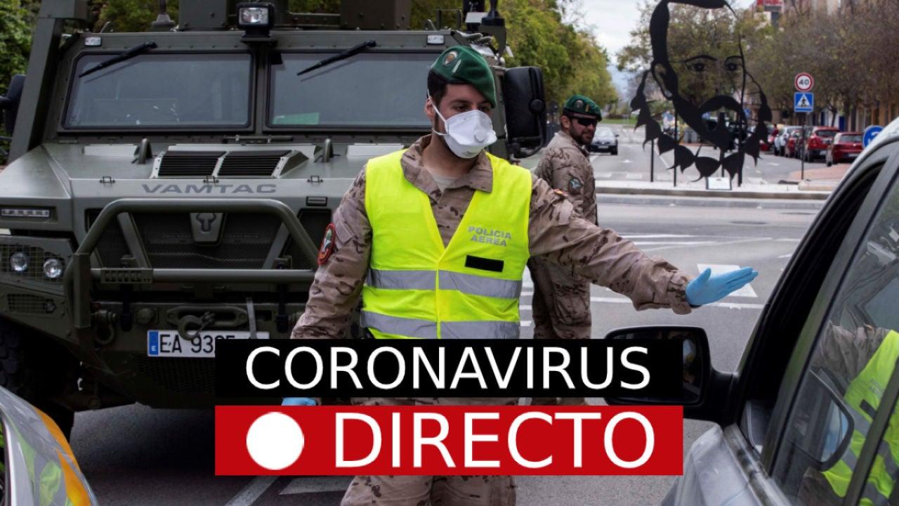 Última hora del coronavirus en España, noticias de hoy de los casos en directo