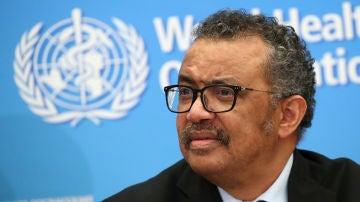 Tedros Adhanom Ghebreyesus, director general de la Organización Mundial de la Salud (OMS)