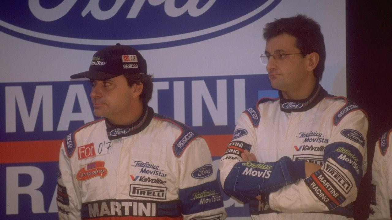 Carlos Sainz y Luis Moya
