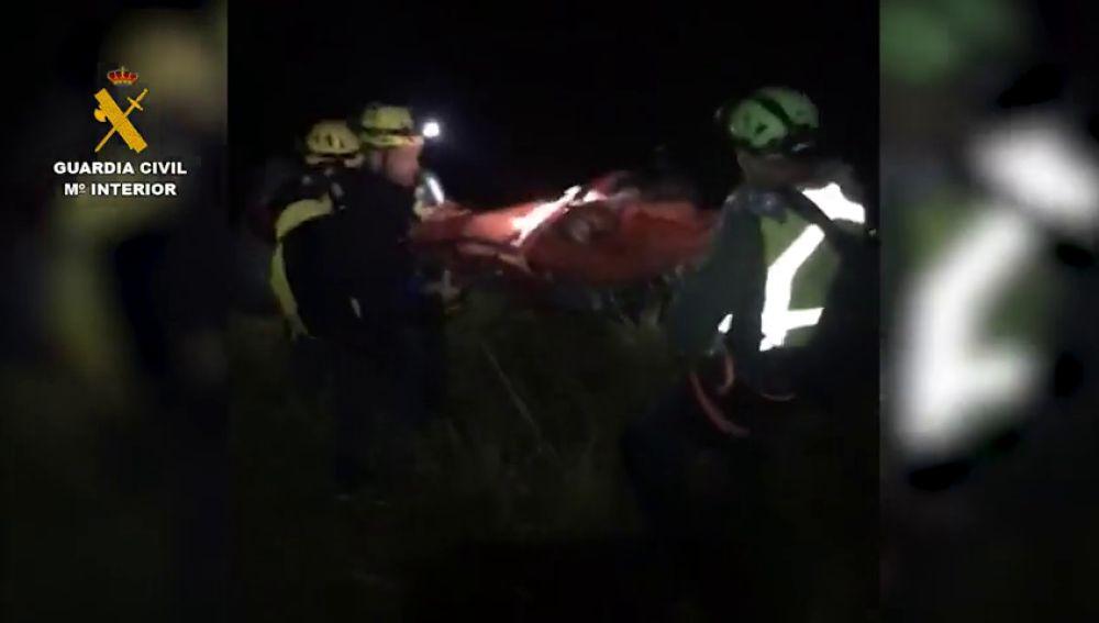 Rescatan a una senderista tras sufrir un accidente en una zona montañosa de Mallorca