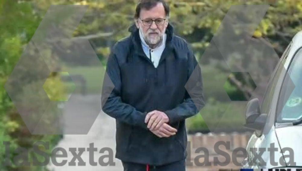 Rajoy rompe la cuarentena por coronavirus
