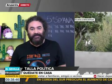 El Sevilla ironiza sobre la posible razón por la que Rajoy se habría saltado el confinamiento