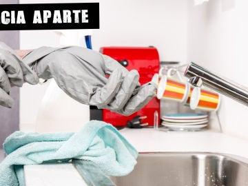 Desinfectar con lejía