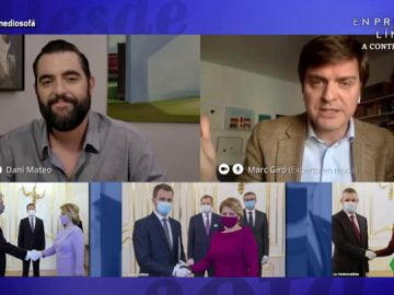 """El enfado de Marc Giró con los políticos que usan mascarillas de diseño: """"Hay una pandemia y se ponen unas que parecen de broma"""""""