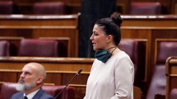 La diputada de Vox, Macarena Olona
