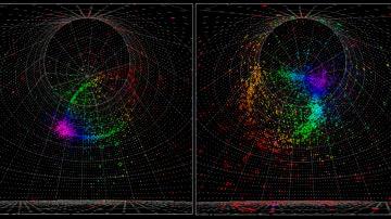 Un indicio de la violacion de la simetria entre materia y antimateria en neutrinos