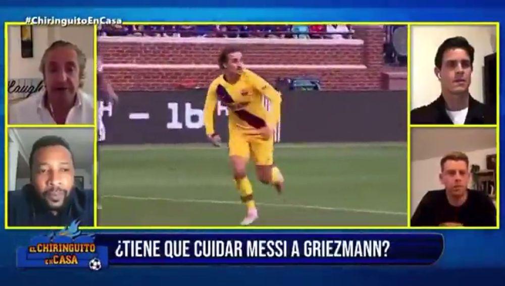"""Josep Pedrerol, contundente: """"Antoine Griezmann no es jugador para el Barcelona"""""""