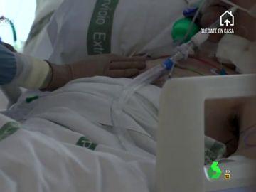 """La intubación, el momento """"más crítico"""" en un contagiado por coronavirus"""