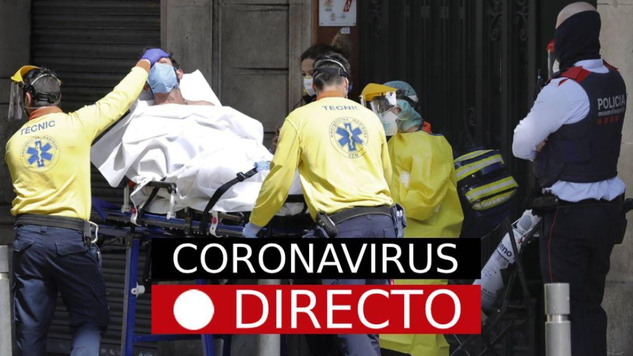Última hora del coronavirus en España y el resto del mundo en directo