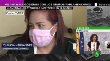 """""""Muerto el perro se acabó la rabia"""": la impactante agresión a punta de pistola a una sanitaria mexicana en plena pandemia de coronavirus"""